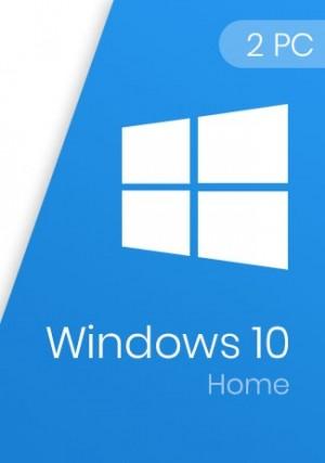 Windows 10 Home Key 32/64-Bit (2 PCs)