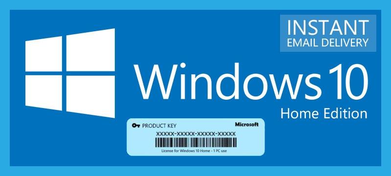 chiave di windows 10 home